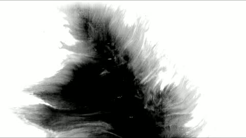 ink splatter in splashes, drops and stains. - blob stock videos & royalty-free footage