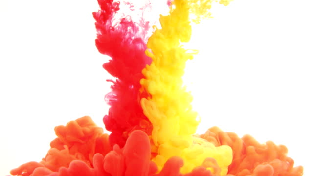 inks in water - mixing stock videos & royalty-free footage