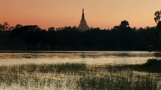 Inle Lake and pagoda