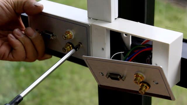 vidéos et rushes de inlet de signal - installer