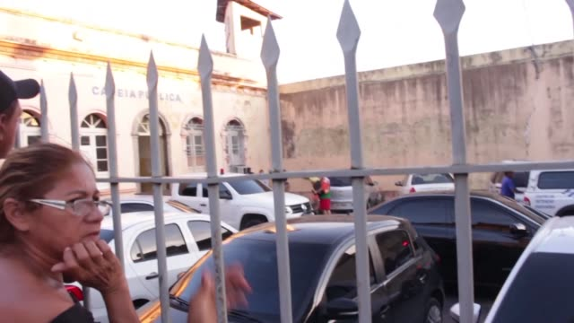 inmates from the anisio jobim penitentiary complex in manaus brazil where 56 people were killed in a riot have been transferred to a public prison... - manaus stock videos and b-roll footage