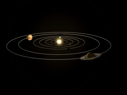 inner solar system - solar system stock videos and b-roll footage