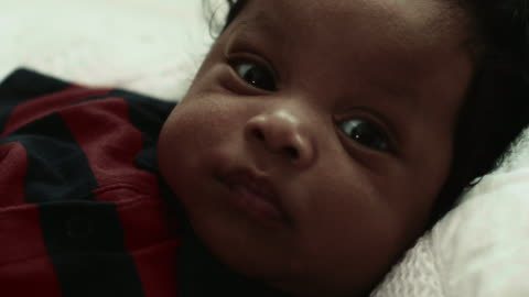 cu : innocence baby boy - babies only stock videos & royalty-free footage