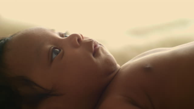 cu : innocence baby - nursery bedroom stock videos & royalty-free footage