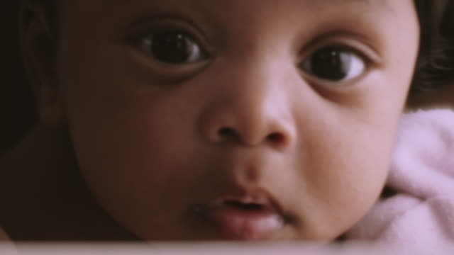 innocence face - babies only stock videos & royalty-free footage