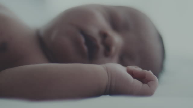 innocence : newborn baby boy(0-1 months) - 0 1 months stock videos & royalty-free footage