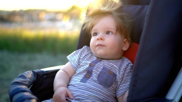 innocent joy of babyhood - babyhood stock videos & royalty-free footage