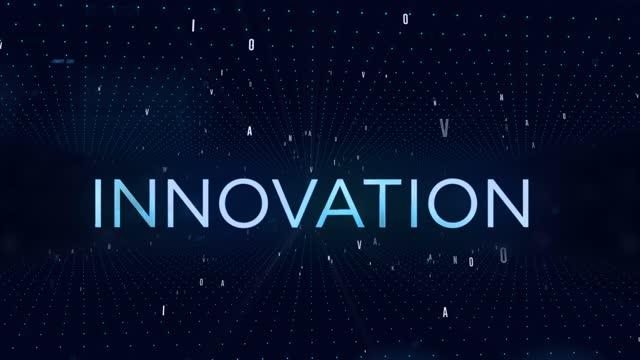 stockvideo's en b-roll-footage met achtergrond 4k-innovatie - getal