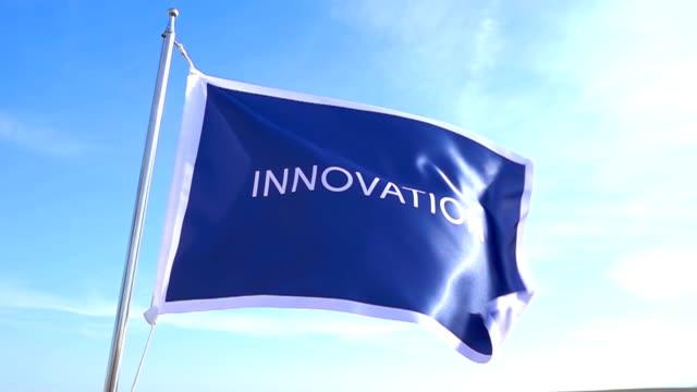 innovation flag - improvement stock videos & royalty-free footage