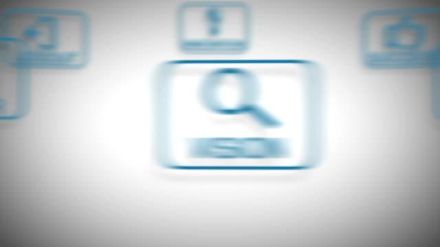 革新的なアイコン - 押しボタン点の映像素材/bロール