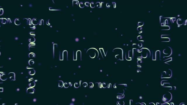 ストロークの背景の革新 - 文字点の映像素材/bロール