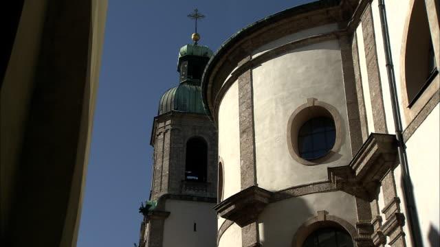 innsbruck town (tyrol - austria) - traditionally austrian stock videos & royalty-free footage