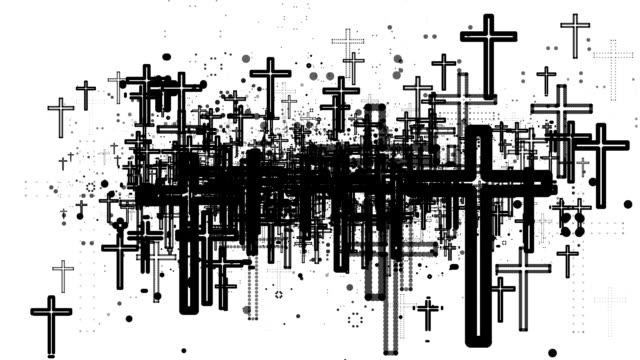 クロス:無数の(ループ) - 宗教点の映像素材/bロール