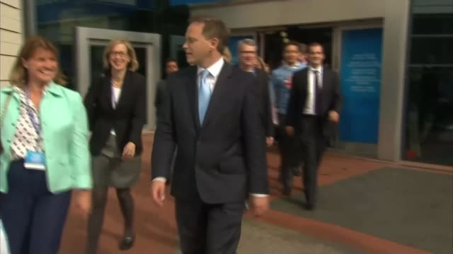 inquest after young conservative takes life due to alleged bullying t28111505 / tx grant shapps along with others at 2014 conservative party... - grant shapps stock videos and b-roll footage
