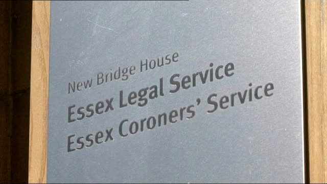 inquest into death of 12yearold girl during pe lesson chelmsford new bridge house general views of new bridge house 'essex legal service essex... - inquest stock videos & royalty-free footage