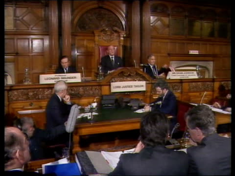 inquiry england yorks sheffield town hall gv inquiry - sheffield stock videos and b-roll footage
