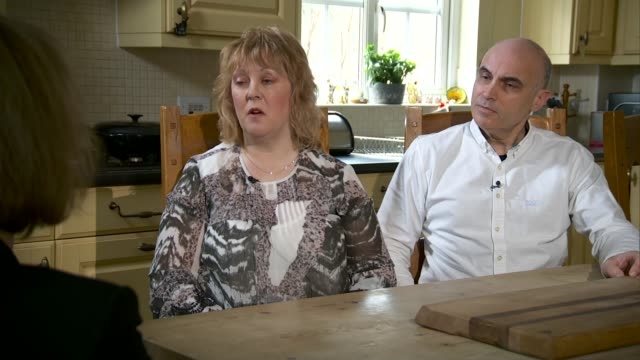 inquiry set to examine if disabled people are discriminated against by justice system england int tracy o'neill interview sot john o'neill interview... - ジャッキー ロング点の映像素材/bロール