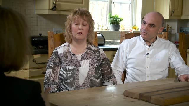 inquiry set to examine if disabled people are discriminated against by justice system england int john o'neill interview sot tracy o'neill interview... - ジャッキー ロング点の映像素材/bロール