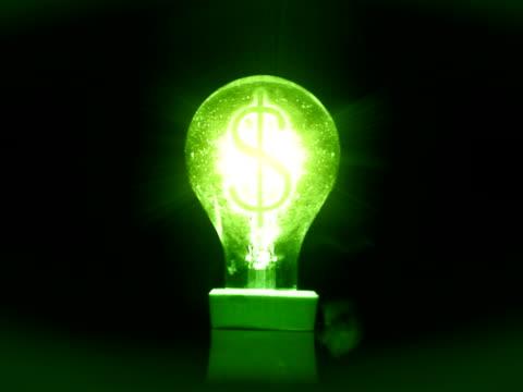 "vídeos de stock, filmes e b-roll de insetos flyes em torno de um ""sinal de"" dólar de lâmpada de luz circulares - grupo mediano de animales"