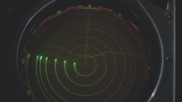 insert radar screen w/green blips - radar stock videos & royalty-free footage