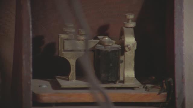 insert telegraph machine sending message - telegraph stock videos & royalty-free footage