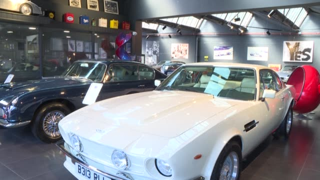 inside a car dealership in northern london which reopens as britain continues to ease lockdown measures, with the youngest primary school pupils... - wind stock videos & royalty-free footage