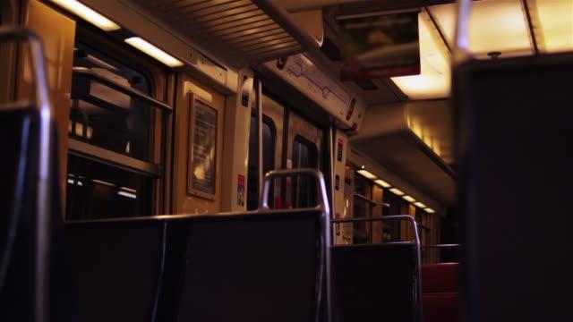 stockvideo's en b-roll-footage met inside a commuter train - franse cultuur