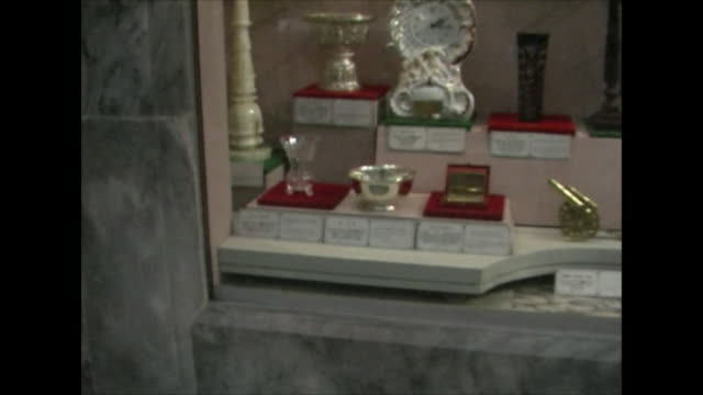inside a museum in pyongyang north korea - pyongyang stock videos and b-roll footage