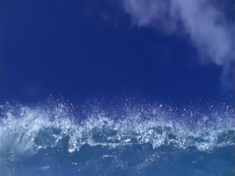 inside a wave. - whatif点の映像素材/bロール