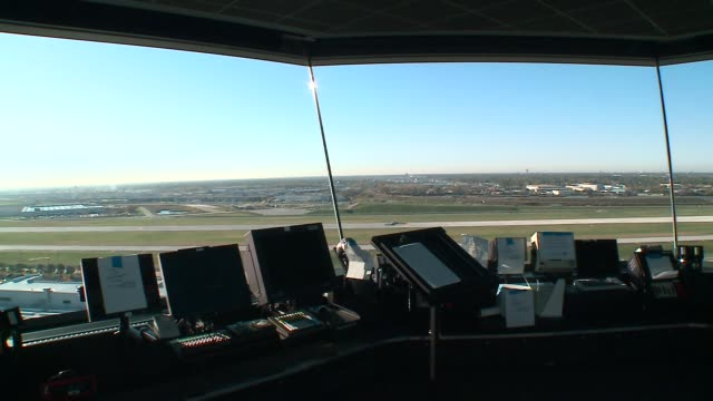 WGN Inside Air Traffic Control Tower at O'Hare Airport in Chicago on October 15 2015
