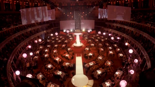 Inside ceremony timelapse at The Fashion Awards 2017 in partnership with Swarovski shot by Ming Yeung at Royal Albert Hall on December 4 2017 in...