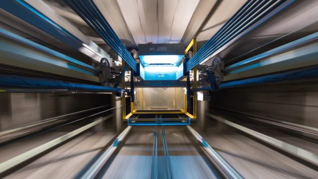 Inside Elevator Shaft