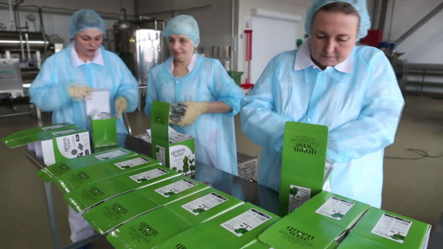 inside greenwise llc plantbased startup facility in maloyaroslavets russia on friday february 28 2020 awareness of meats carbon footprint has created... - organic stock videos & royalty-free footage