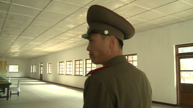 Inside military barracks in North korea