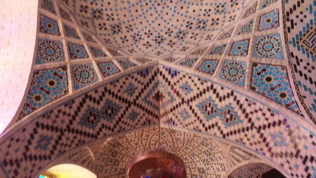 Innen Nasir Al-Mulk Moschee (rosa)