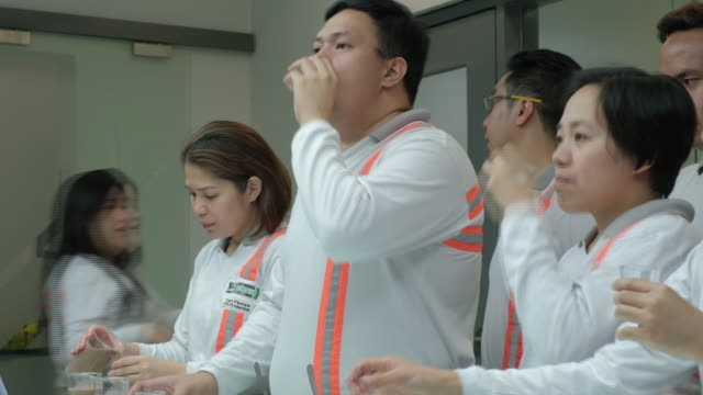 inside nestle philippines plant batangas national capital region philippines on tuesday april 2 2019 - quality control stock videos & royalty-free footage