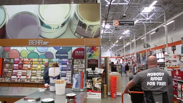 5970f9c4042 BROLL inside of a Home Depot location in Torrance