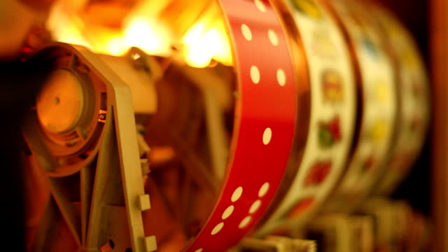 inside of a slot machine - coin operated stock videos & royalty-free footage
