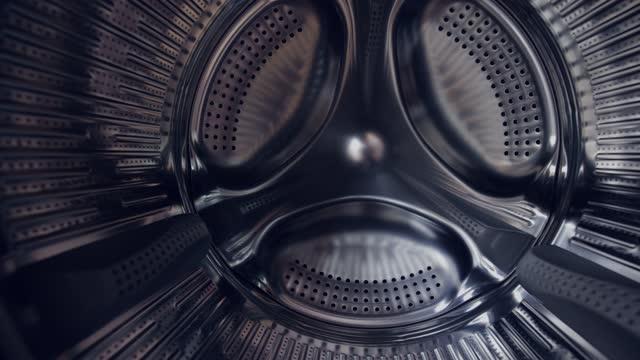 insidan av en tvättmaskin - service bildbanksvideor och videomaterial från bakom kulisserna