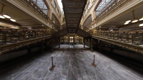 inside of the postal palace in mexico city - museum stock videos & royalty-free footage