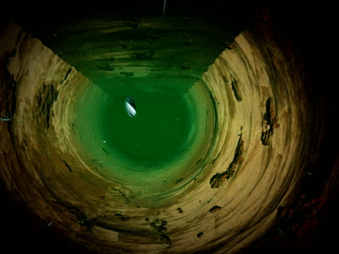 inside old rusty water pipe - rotten com stock videos and b-roll footage