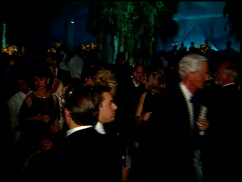 inside party at the 1999 academy awards governor's ball at the shrine auditorium in los angeles, california on march 21, 1999. - 71st annual academy awards stock videos & royalty-free footage