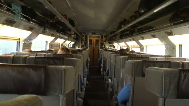 (HD1080i) Inside Railway Carriage