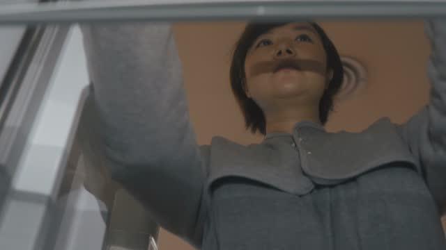 pov inside refrigerator, woman opening refrigerator door - moving activity stock videos & royalty-free footage
