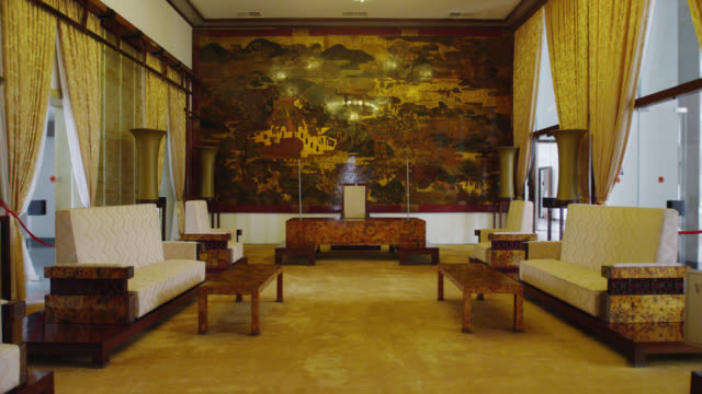 Inside Reunification Palace