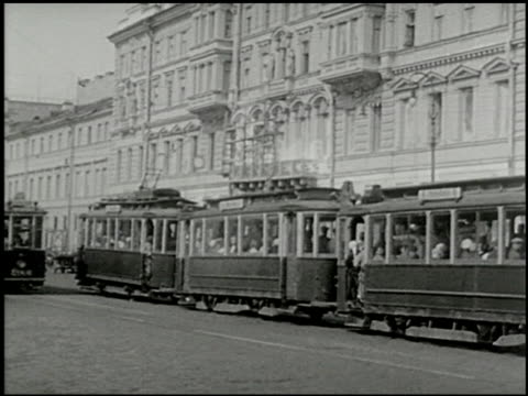 inside russia: moscow and leningrad - 12 of 12 - inside russia: moscow and leningrad filmtitel stock-videos und b-roll-filmmaterial