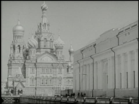 inside russia: moscow and leningrad - 3 of 12 - ex unione sovietica video stock e b–roll