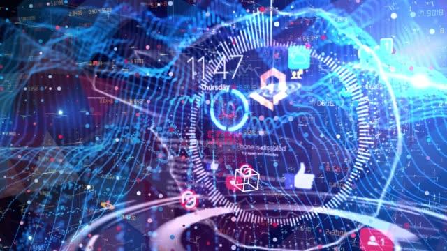 inside smart internet - alertness stock videos & royalty-free footage
