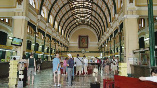 Inside the General Post Office Saigon