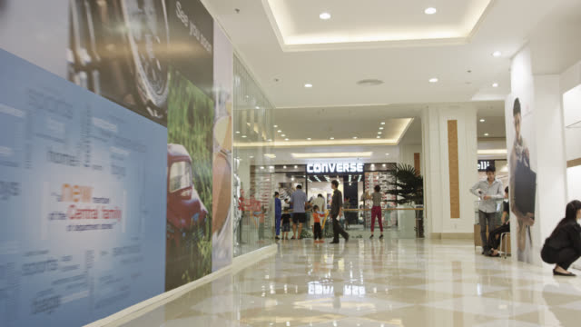 Inside the Vincom Mega Mall Royal City Underground Shopping Mall